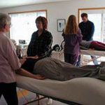 demonstrating reiki healing methods